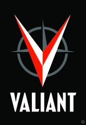 His solid handsome logo for Valiant