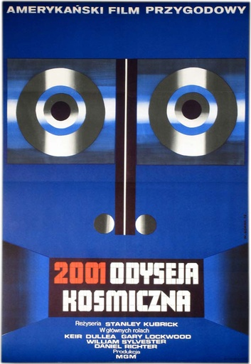 2001: A SPACE ODYSSEY Film Poster 1968