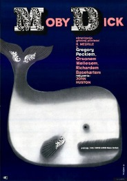 MOBY DICK Film Poster 1961