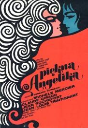 PIEKNA ANGELIKA Film Poster 1968